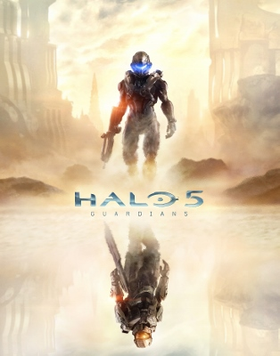 Halo 5: Guardians cover art
