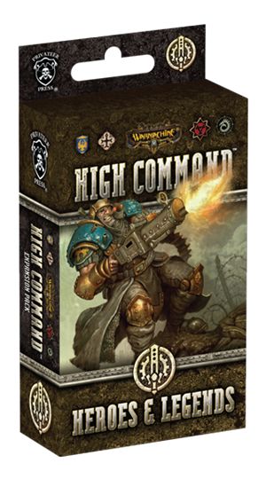 Warmachine: High Command – Heroes & Legends cover art