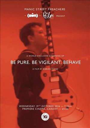 Be Pure Be Vigilant Behave cover art