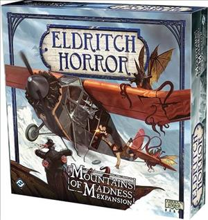 Eldritch Horror: Mountains of Madness cover art