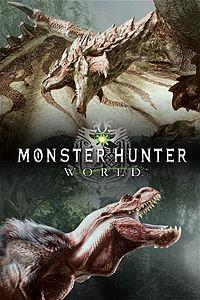 Monster Hunter World cover art