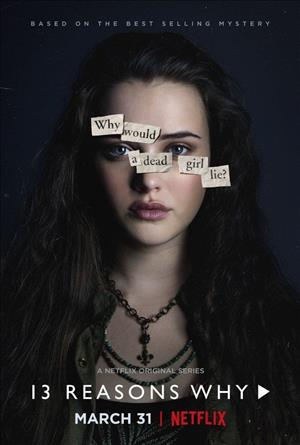 13 Reasons Why Season 1 cover art