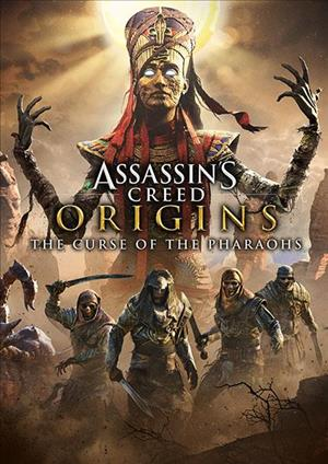 Assassin's Creed Origins - The Curse of the Pharaohs cover art