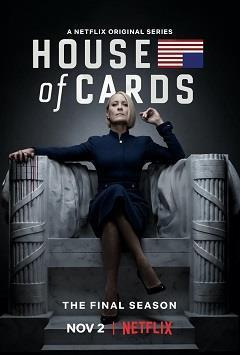 House of Cards Season 6 cover art