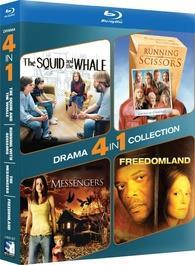 4-Pack Drama: The Squid and the Whale / Running with Scissors / The Messengers / Freedomland cover art