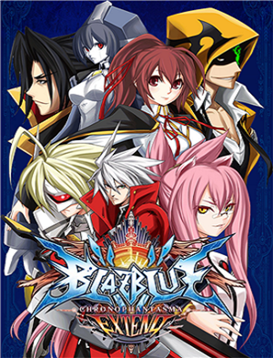 BlazBlue: Chrono Phantasma EXTEND cover art