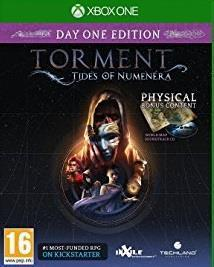 Torment: Tides of Numenera cover art