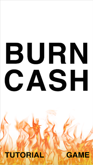 BURN CASH cover art