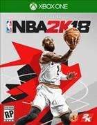 Game NBA 2K18  Xbox One cover art