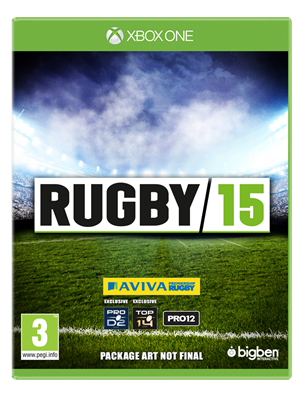 RUGBY 15 cover art