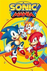 Sonic Mania cover art