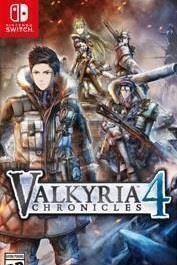 Valkyria Chronicles 4 cover art