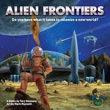 Alien Frontiers cover art