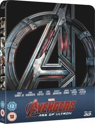 Avengers: Age of Ultron 3D cover art