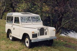 LAND ROVER Series I cover art