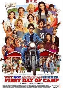 Wet Hot American Summer: First Day of Camp Season 1 cover art