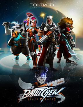 BATTLECREW Space Pirates cover art