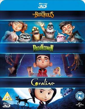 Laika 3D Box Set cover art