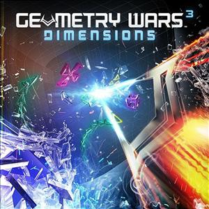 Geometry Wars 3: Dimensions cover art