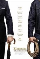 Movie Kingsman: The Golden Circle  Cinema cover art