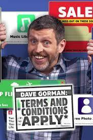 Dave Gorman: Terms And Conditions Apply Season 1 cover art