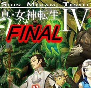Shin Megami Tensei IV FINAL cover art