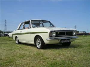 FORD Lotus Cortina Mk II cover art