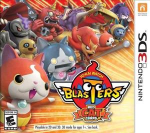 Yo-kai Watch Blasters: Red Cat Corps cover art