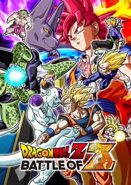 Dragon Ball Z: Battle of Z cover art
