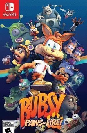 Bubsy: Paws on Fire! cover art