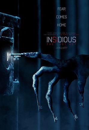 Insidious: The Last Key cover art