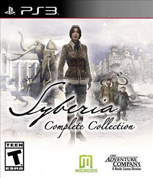 Syberia Complete Collection cover art