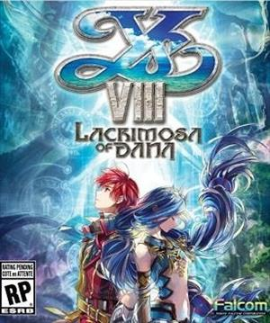 Ys VIII: Lacrimosa of DANA cover art