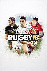 Rugby 18 cover art
