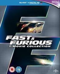 Fast & Furious 1-7 cover art
