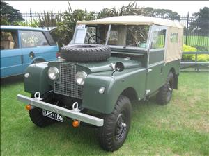 LAND ROVER SII/SIIA cover art