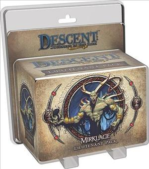 Descent: Journeys in the Dark (Second Edition) – Gargan Mirklace Lieutenant Pack cover art