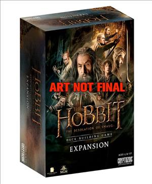 The Hobbit: The Desolation of Smaug Deck-Building Game Expansion Pack cover art