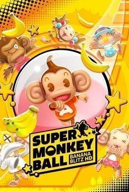 Super Monkey Ball: Banna Blitz HD cover art