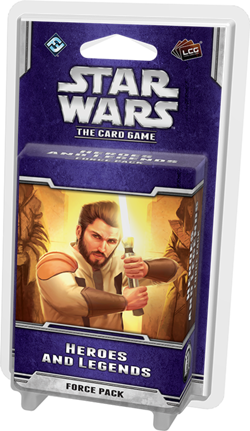 Star Wars: The Card Game – Heroes and Legends cover art