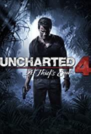 Uncharted 4: A Thief's End cover art