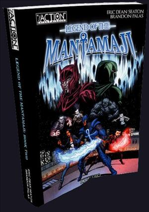 Legend of the Mantamaji: Book 2 cover art