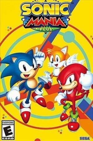 Sonic Mania Plus cover art