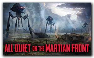 All Quiet on the Martian Front cover art