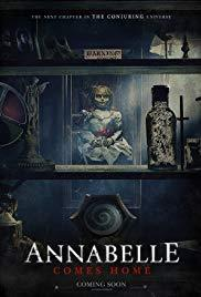 Annabelle Comes Home cover art