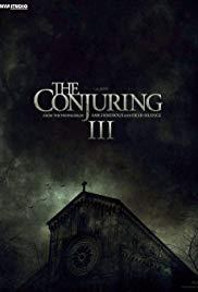 The Conjuring 3 cover art
