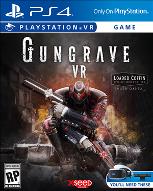 Gungrave VR cover art