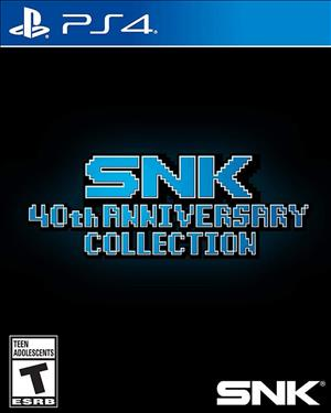 SNK 40th Anniversary Collection cover art