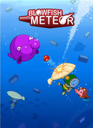 Blowfish Meets Meteor cover art