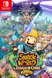 Snack World: The Dungeon Crawl Gold cover art